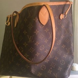 Neverfull MM Monogram Louis Vuitton purse